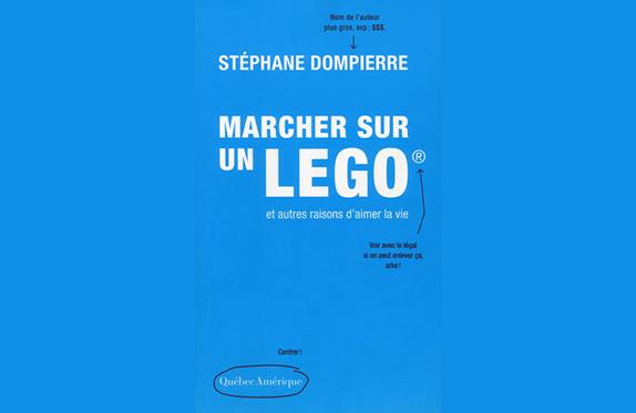 Roman Marcher sur un LEGO de Stéphane Dompierre